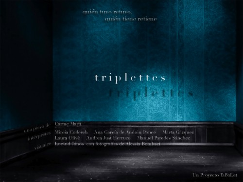 Triplettes and the Dark Room