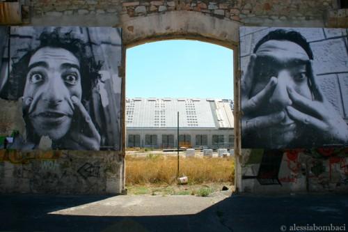 JR, entre la fotografía y la Street Art