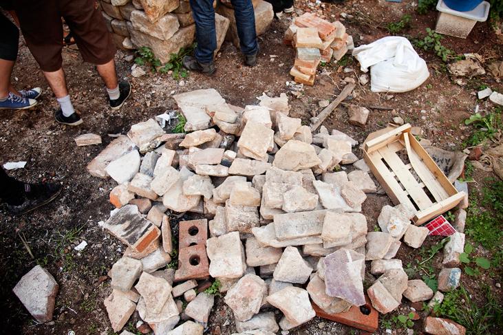 Material de recupero y usado para la construcción, Huerto del Xino