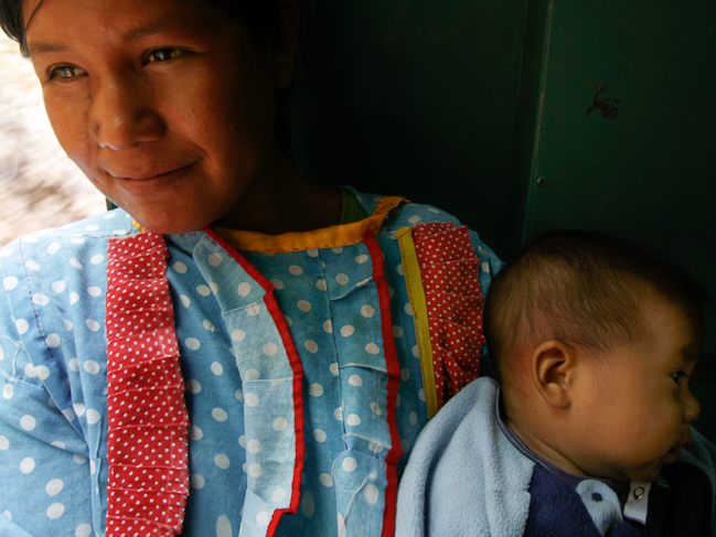 Las mujeres Tarahumara