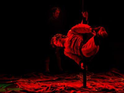 Fotografías de artes escénicas, el circo de Redondo y Albuerne